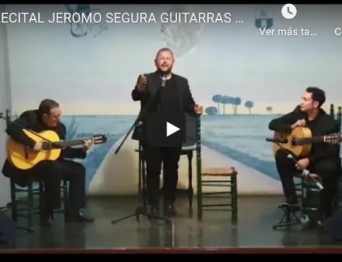 Un detalle del recital de JEROMO SEGURA GUITARRAS ÁLVARO MORA Y ISRAEL TORRES