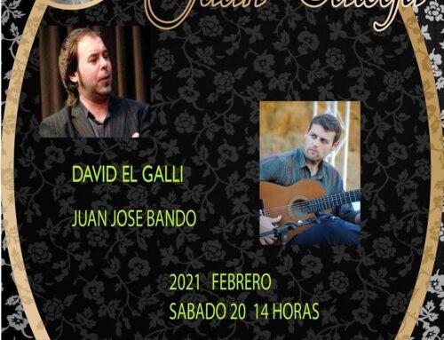 RECITAL DE DAVID EL GALLI Y JUAN JOSE BANDO