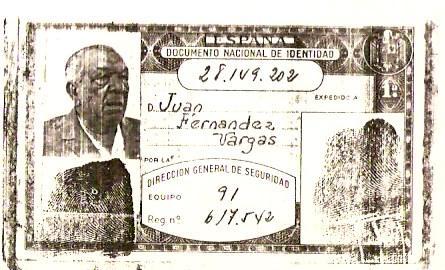 Carnet de Juan Talega
