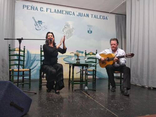 Laura Vital y Eduardo Rebollar